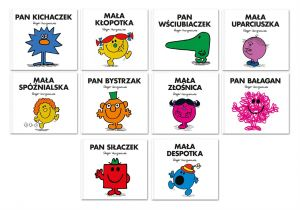 Mr. Men Mała Miss 4 - pakiet Roger Hargreaves